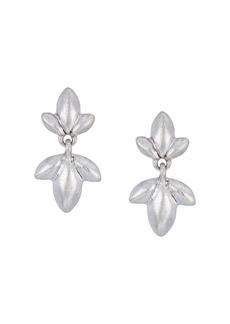 The Sak Trefoil Double Drop Earrings