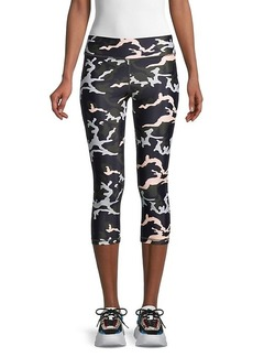 The Upside Camo-Print Capri Leggings