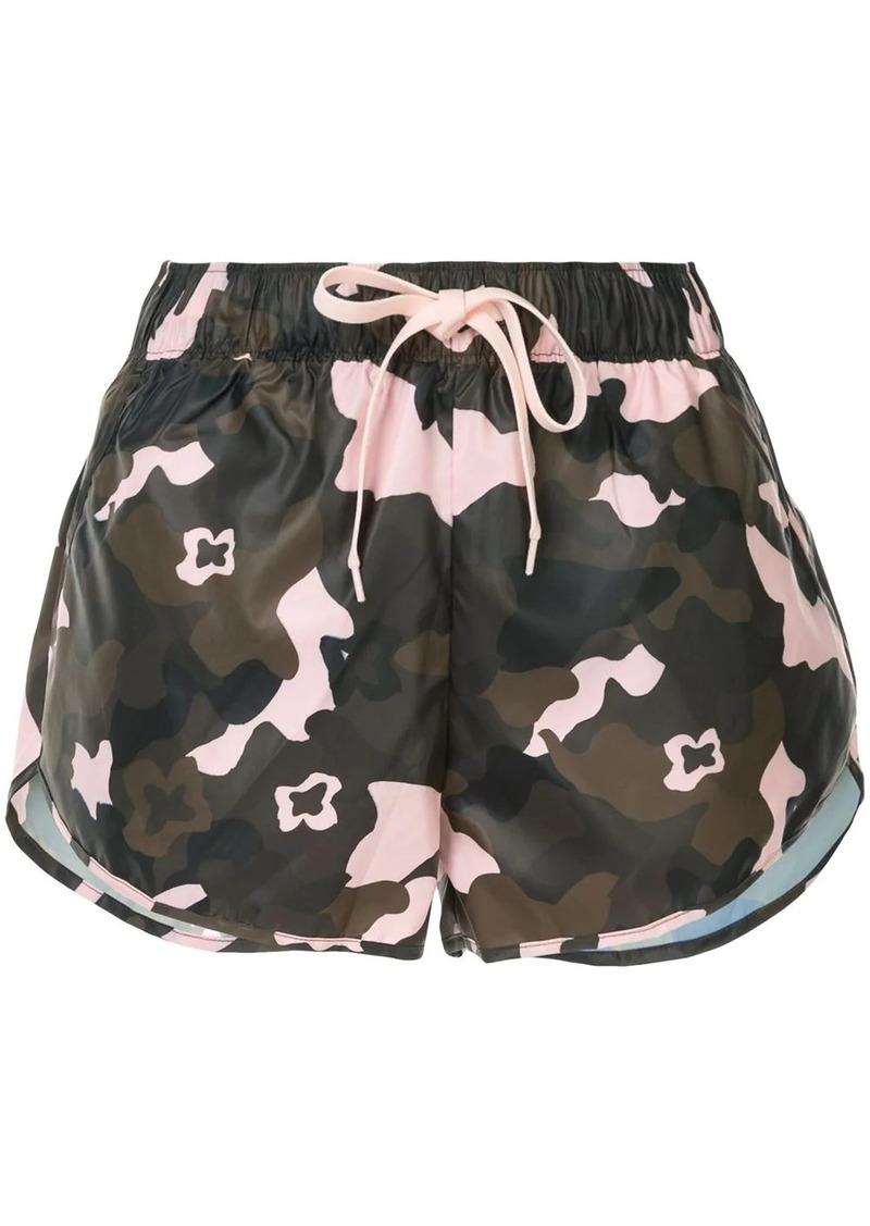 The Upside camouflage drawstring shorts