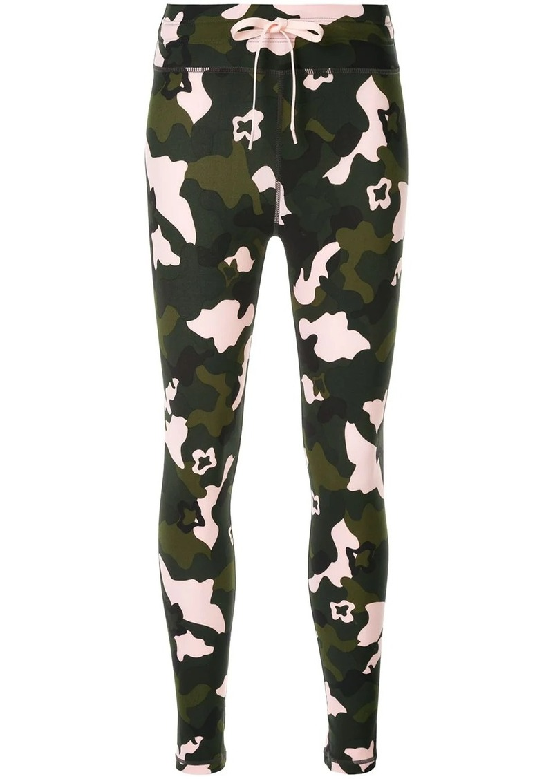 The Upside camouflage fitted leggings