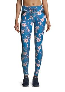 The Upside Fairy Tale Floral-Print Performance Yoga Pants