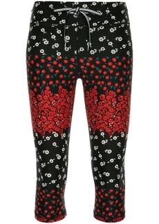 The Upside floral print capri leggings