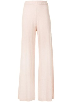 The Upside Igor flared knitted trousers