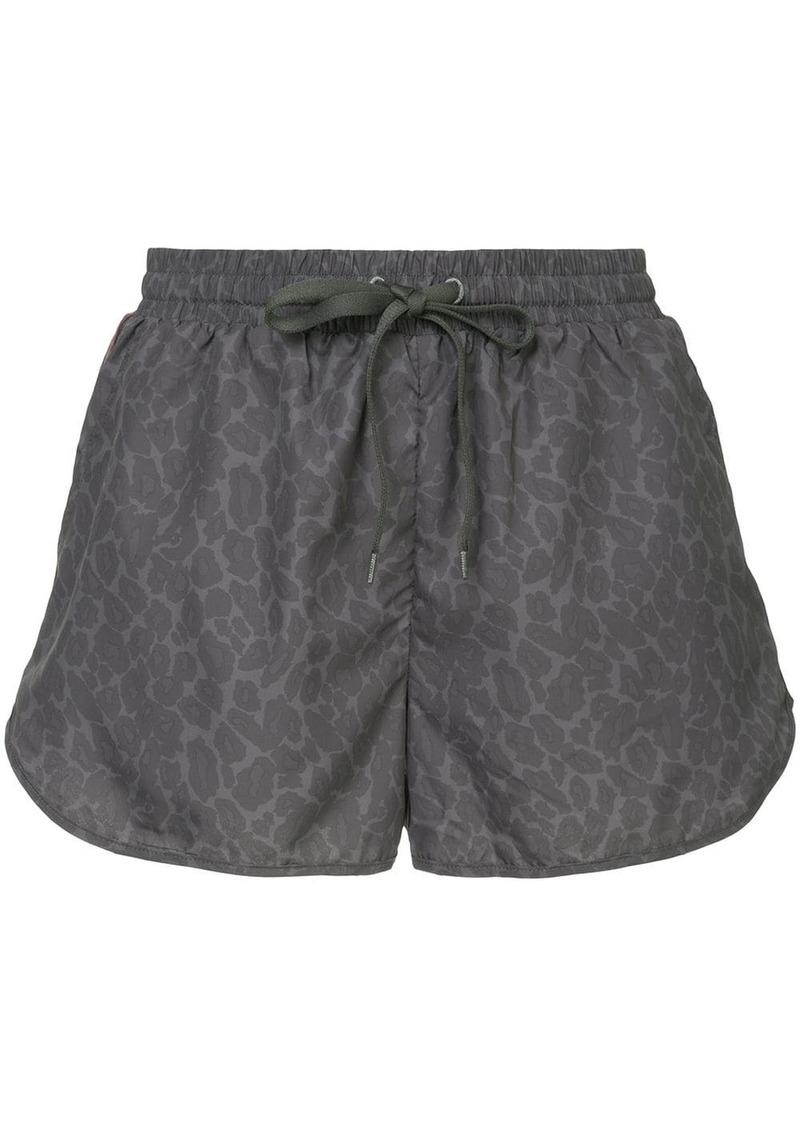 The Upside leopard-print shorts