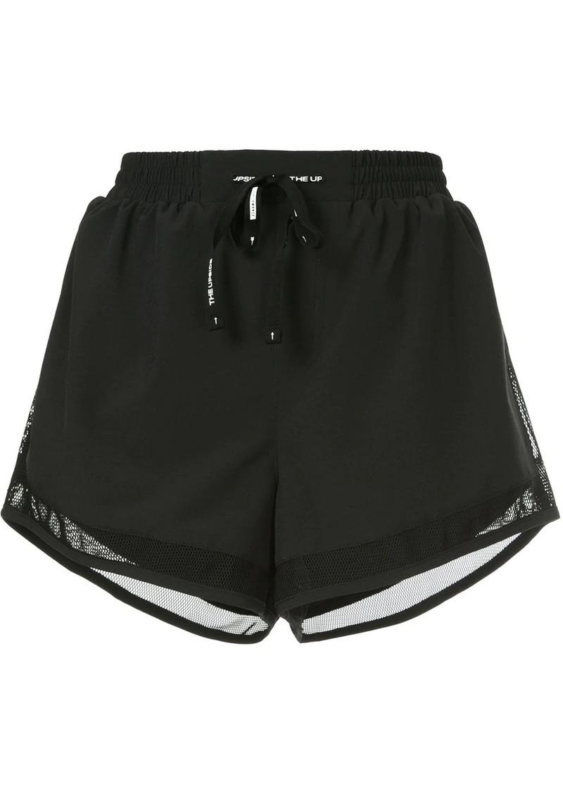 The Upside mesh trim shorts