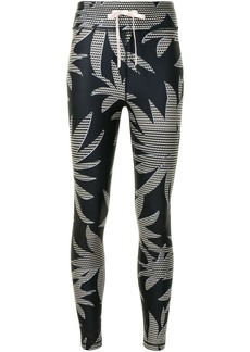 The Upside palm tree print leggings