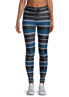 The Upside St. Tropez Striped Yoga Pants