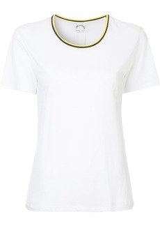 The Upside striped collar T-shirt