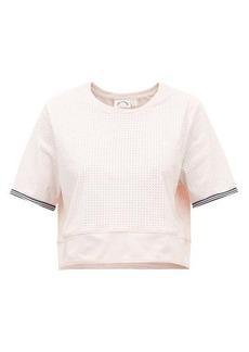 The Upside Anela stretch-jersey cropped T-shirt