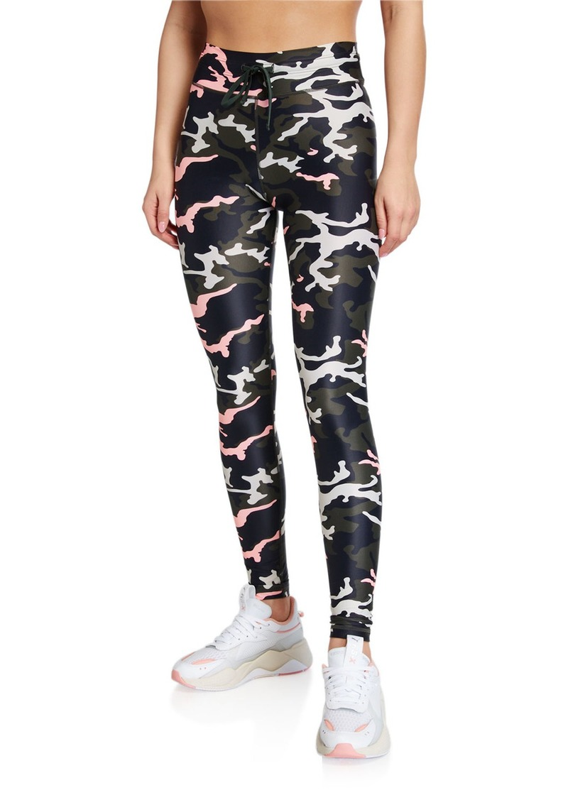 The Upside Camo 54 Drawstring Yoga Pant
