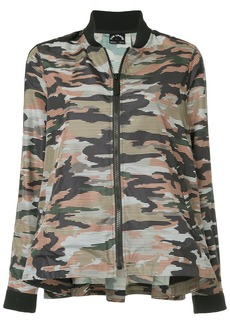 The Upside camouflage bomber jacket - Multicolour
