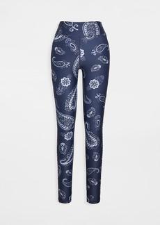 The Upside Fortune Paisley Yoga Pants
