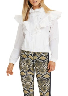 The Upside Joy Ruffle Hooded Jacket