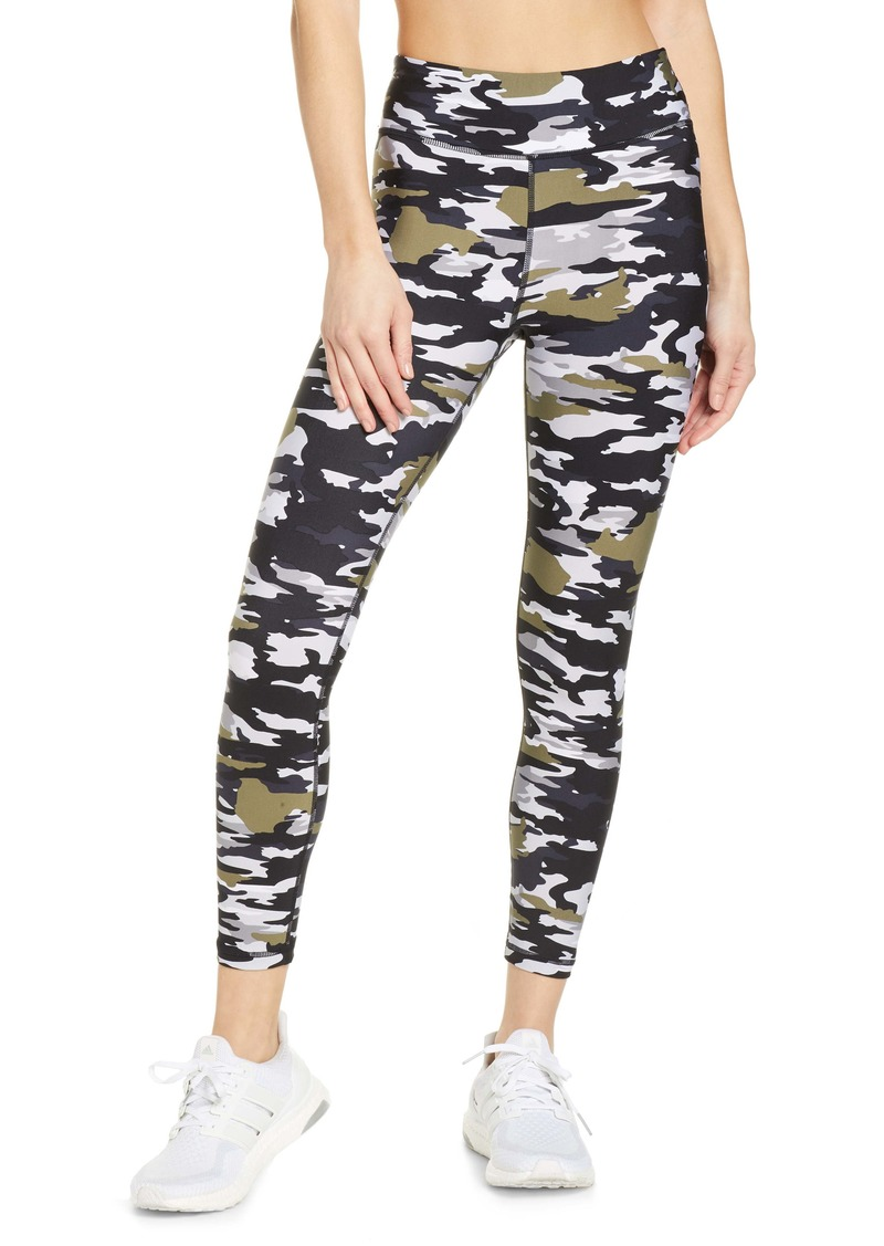 The Upside Pearl Camo Midi Yoga Pants