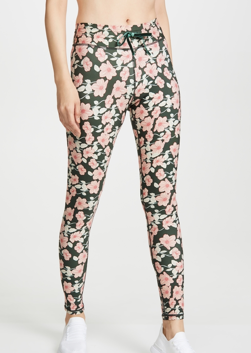 The Upside Poppy Floral Yoga Pants