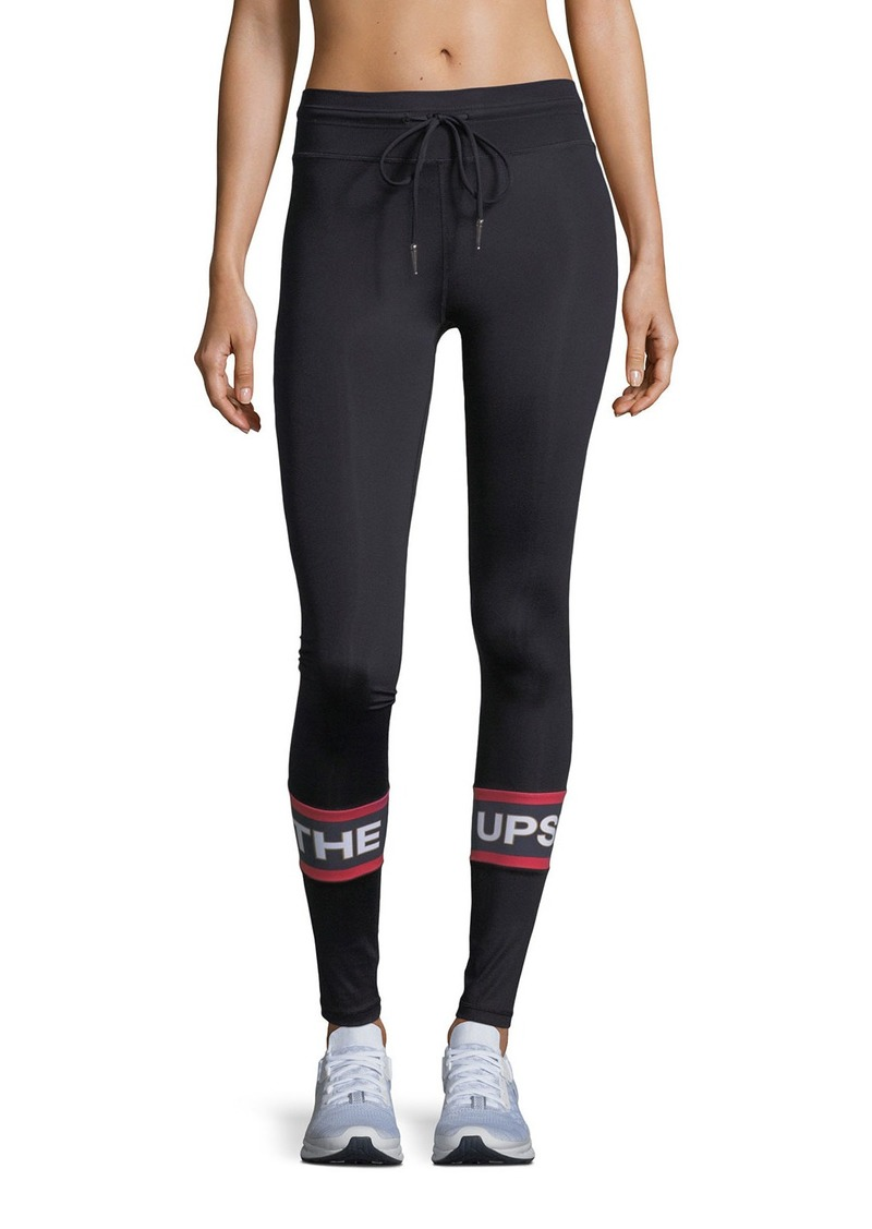 60d56d5f75ff00 The Upside The Upside Sandia Drawstring Compression Yoga Pants ...