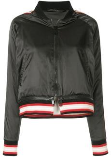 The Upside satin bomber jacket - Black
