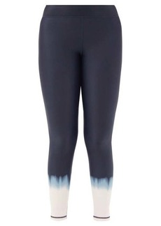 The Upside Seawater cropped stretch-jersey leggings
