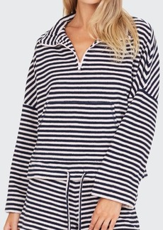 The Upside Tiena Striped Terry Sweatshirt