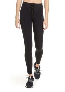 The Upside Velvet & Mesh Panel Yoga Pants