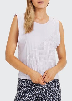 The Upside Vinyl Sleeveless Top