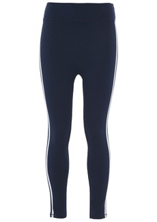 The Upside Woman Stretch-jacquard Leggings Navy