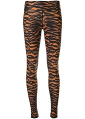 The Upside tiger print leggings