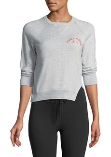 The Upside Wilder Knit Long-Sleeve Crewneck Sweater