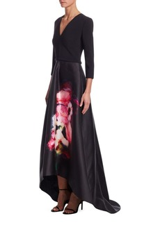 Theia Deep-V Gown