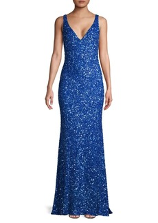Theia Sequin Gown