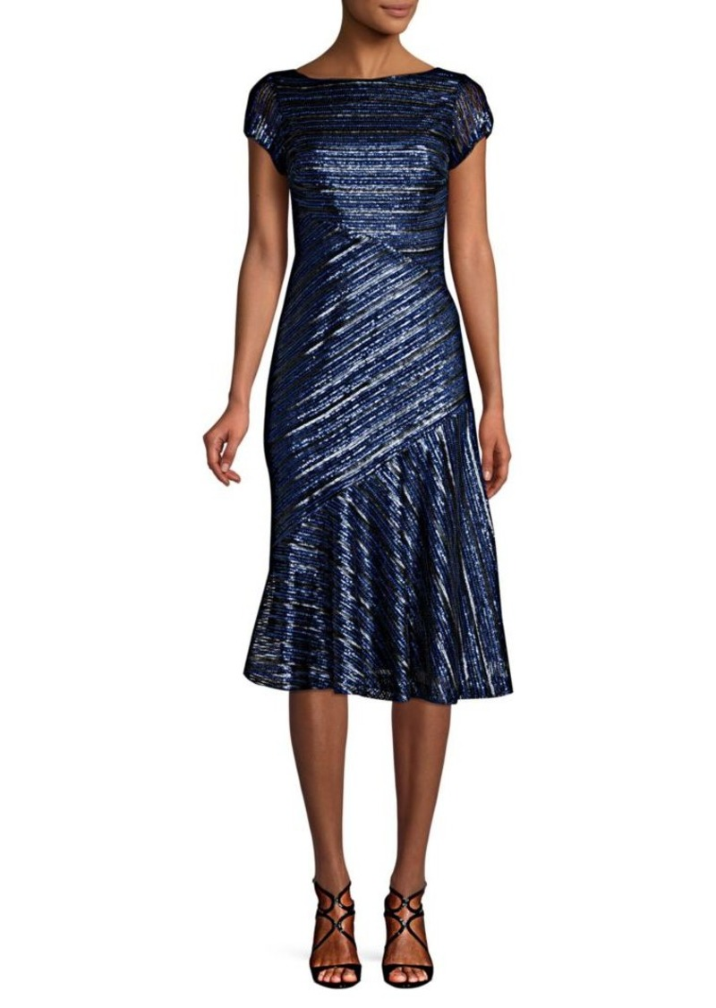 c3bbd620 Theia Sequin Knee-Length Fit-&-Flare Dress