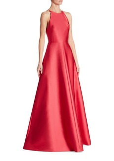 Theia Halter Ball Gown