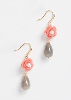 Theia Jewelry Charlotte Double Tier Earrings