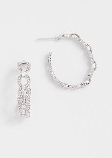 Theia Jewelry Modern Round Link Earrings