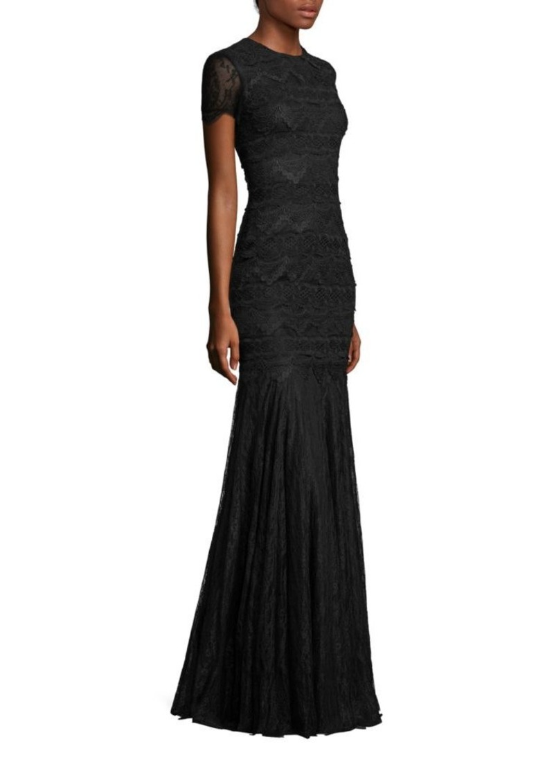 Theia Theia Lace Mermaid Gown | Dresses