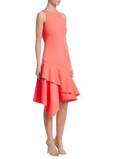 Theia Sleeveless Asymmetric Dress
