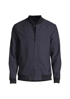 Theory Aiden Wool-Blend Bomber Jacket