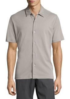 Theory Air Pique Short-Sleeve Shirt