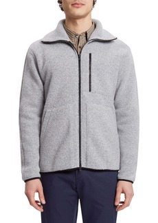 Theory Arctic Fleece Zip Front Jacket