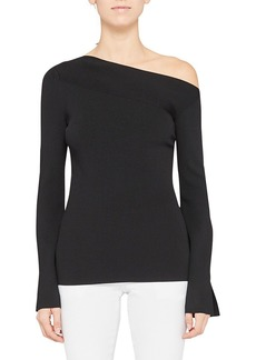 Theory Asymmetric Off-The-Shoulder Top
