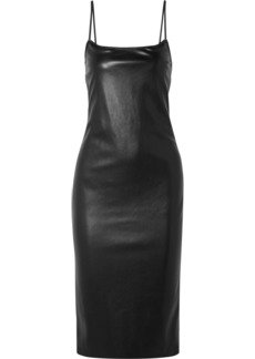 Theory Bedford Faux Leather Dress