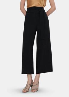 Theory Belt Crop Wide Leg Pant