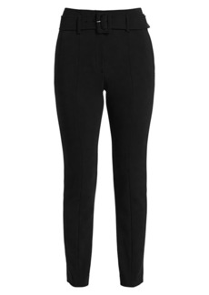 Theory Belted Cigarette Trousers