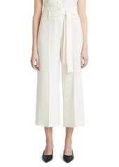 Theory Belted Cropped Pants