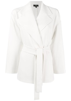 Theory belted fitted jacket