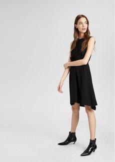 Theory Belted Peplum Dress