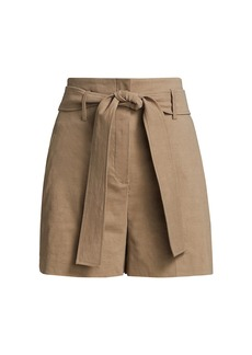 Theory Belted Short