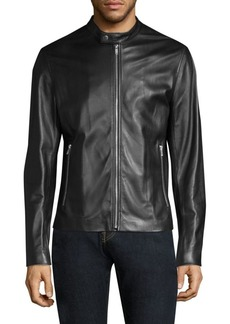 Theory Benji Wynwood Leather Jacket