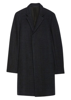 Theory Boucle Plaid Suffolk Coat