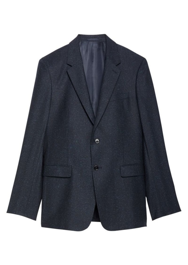 Theory Bowen Chambers Classic-Fit Wool & Silk Suiting Jacket